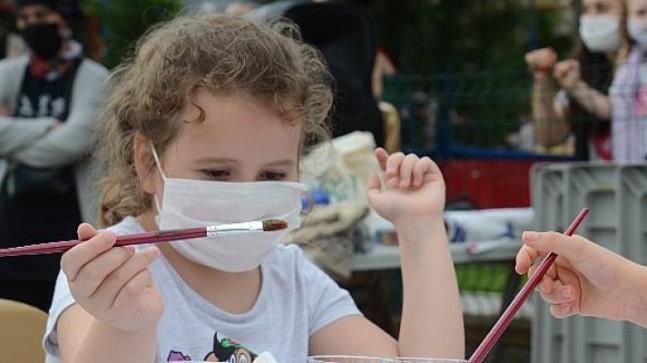 Çocuk etkinlikleri tam gaz