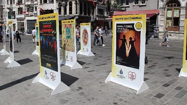 Geçmişten Günümüze Şehir Tiyatroları Afişleri Sergisi Beyoğlu'nda başladı