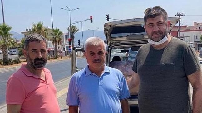 Mersin'in hayırsever iş insanları mağdur ailelerin yanında