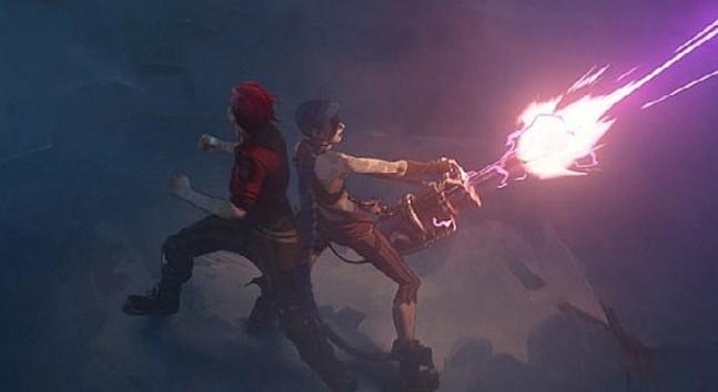 Riot Games ve Netflix 7 Kasım'da çıkacak animasyon dizisi Arcane'in ilk fragmanını yayınladı
